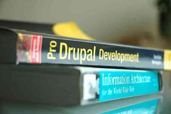Pro Drupal Development + Information Architecture for the World Wide Web